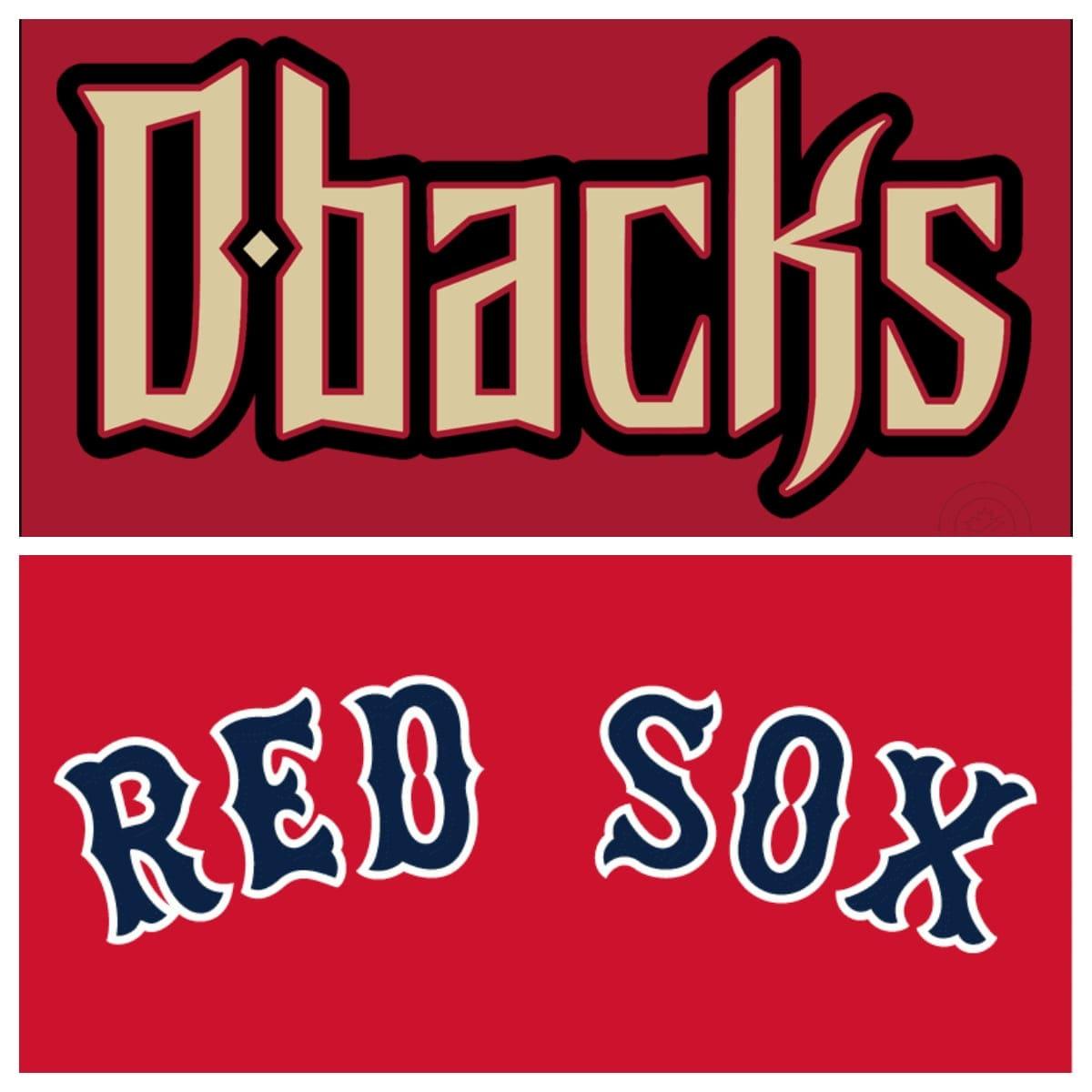 Arizona Diamondbacks vs Boston Red Sox Stats