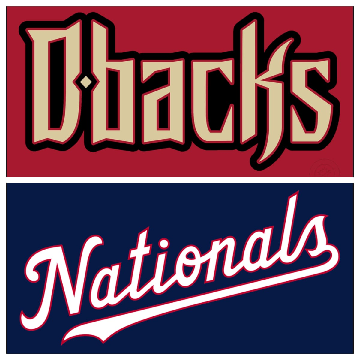 Arizona Diamondbacks vs Washington Nationals Stats