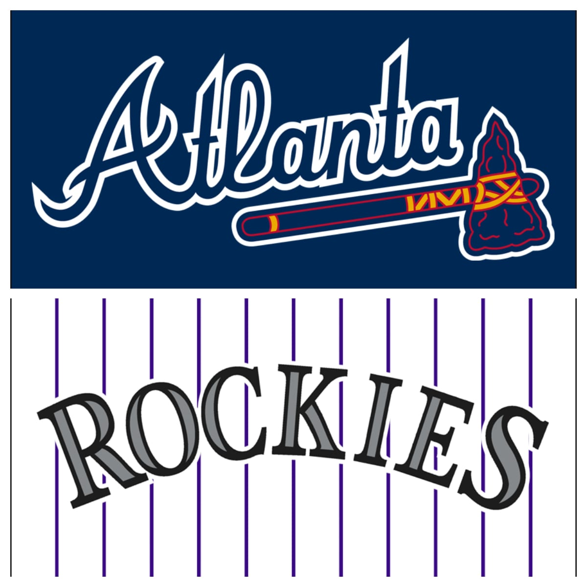 Atlanta Braves vs Colorado Rockies Stats