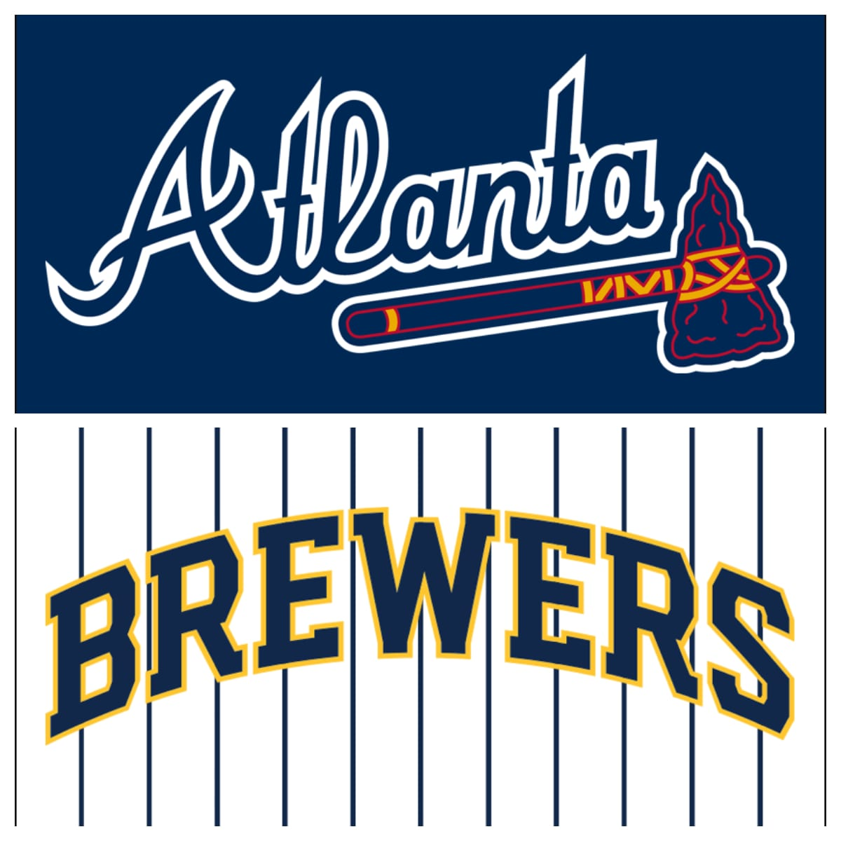 Atlanta Braves vs Milwaukee Brewers Stats
