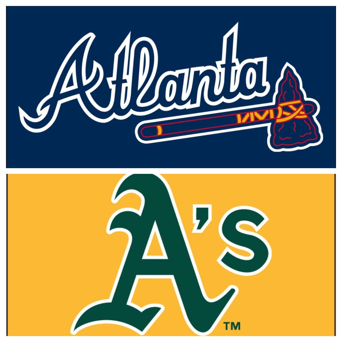 Atlanta Braves vs Oakland Athletics Stats